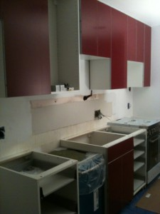 Installed Cabinets